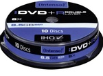 Intenso DVD+R 8.5GB 10S DL, 10 spindle-tilaustuote